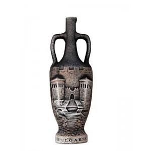 Декоративна бутилка с червено вино - Цари Мали Град