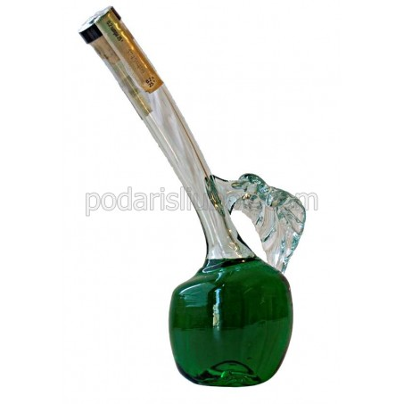 Декоративна бутилка Зелена ябълка, мента