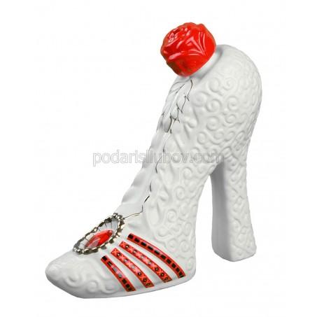 Бутилка - бяла обувка, водка 350мл