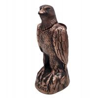 Декоративна бутилка от керамика Орел, червено вино