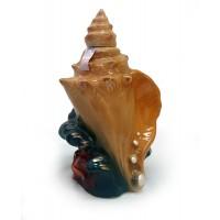 Бутилка Рапан от керамика, украинска водка 700мл