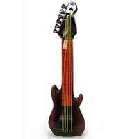 Декоративна бутилка от керамика Рок китара 0.700л, водка