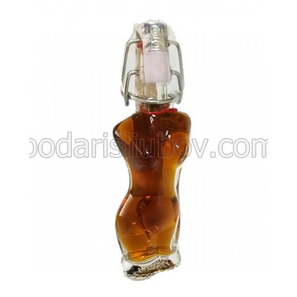 Ева, декоративна мини бутилка с бренди