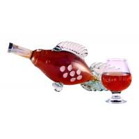 Подарък за Никулден - бутилка Шаран и гравирана чаша