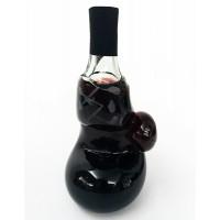 Бутилка от стъкло с червено вино, Боксова ръкавица