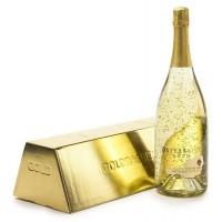 Златно шампанско (шампанско със златни частици) 1,5л