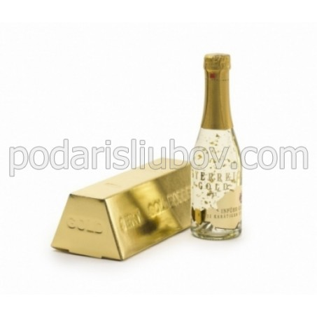 Златно шампанско (шампанско със златни частици) 200мл