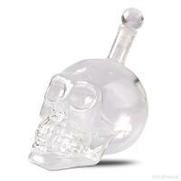 Бутилка Череп Crystal head стъкло, 1 литър