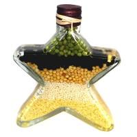 Морска звезда, декоративна бутилка - 24см
