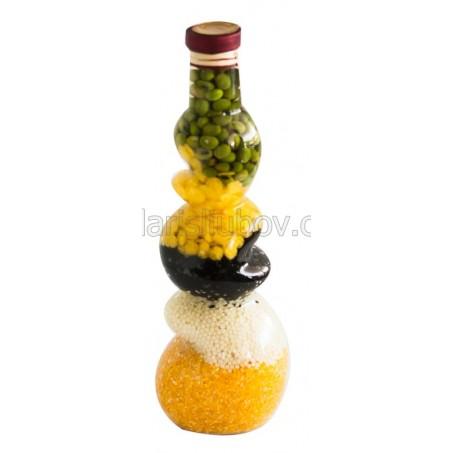 Целувка, декоративна бутилка - 30см