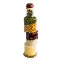 Зиг - заг, декоративна бутилка - 30см