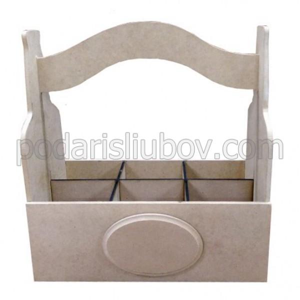 Дървена кутия за бира (сандъче)