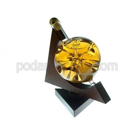 Сувенирна бутилка глобус - Звезда, 350мл