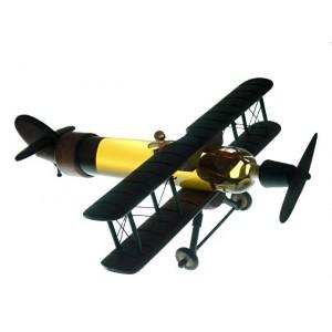 Сувенирна бутилка Самолет, 350мл