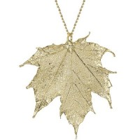 Медальон позлатено листо от канадски клен