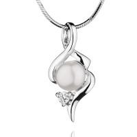 """Сребърна висулка с перла """"Poli"""""""