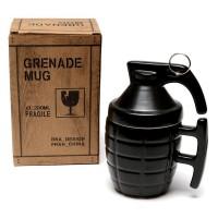 Чаша за кафе Граната, с капаче и метална дръжка