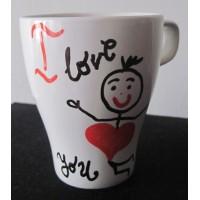 "Чаша ""I love..."""