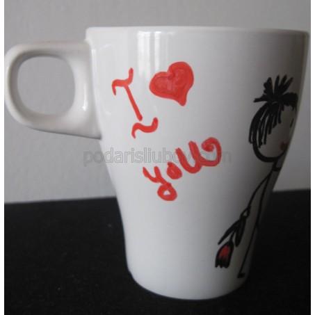 """Чаша """"I Love You"""""""