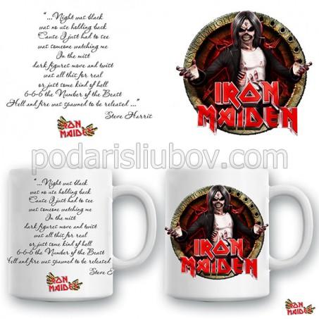 """Керамична чаша """"Iron Maiden"""""""