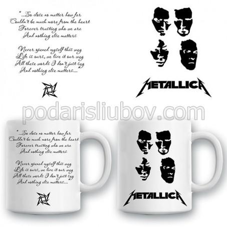 "Керамична чаша ""Metallica"""