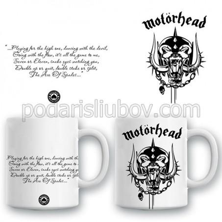 "Керамична чаша ""Motorhead"""