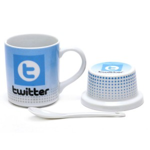 Чаша в подаръчна кутия Социални мрежи