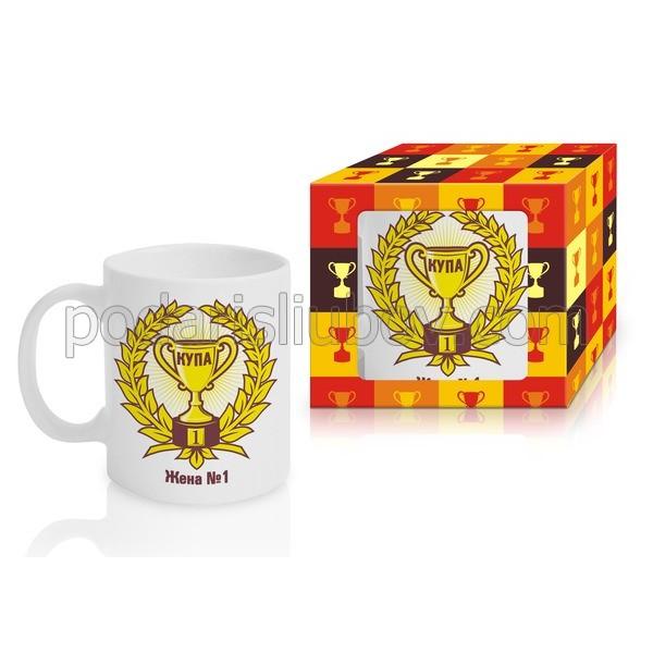 Чаша за кафе и чай в кутия Жена №1