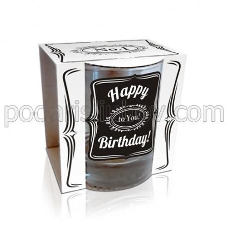 Чаша за уиски Честит Рожден Ден