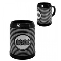 Керамична халба за бира AC/DC