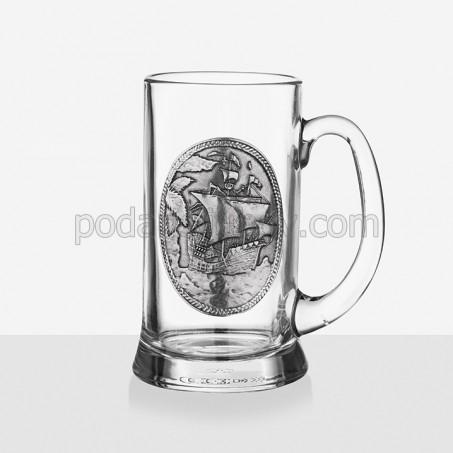 Халба за бира Кораб 300ml