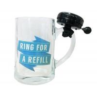 Халба за бира със звънец Ring for a refill