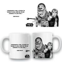 """Керамична чаша """"Han Solo & Chewbacca"""""""
