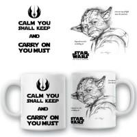 "Керамична чаша ""Yoda"""