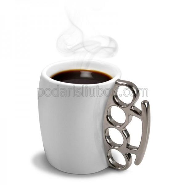 Керамична чаша за кафе и чай, с дръжка Бокс