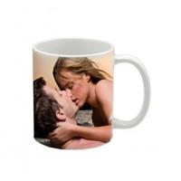 Класическа бяла керамична чаша с Ваша снимка