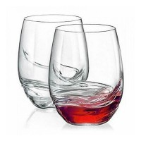 Комплект от две чаши за безалкохолни напитки и ликьор, 500 мл