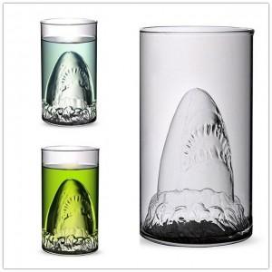 Стъклена чаша Акула, 300мл