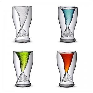 Стъклена чаша - шот Русалка, 150мл