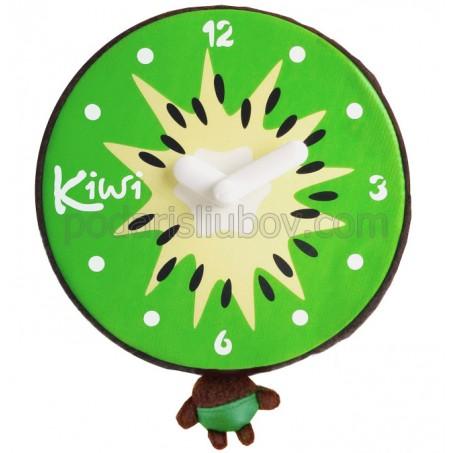 Бебешки часовник Киви, с плюш