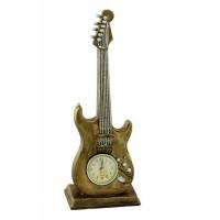Декоративен настолен часовник Китара