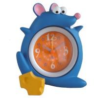Детски часовник Синя Мишка, настолен