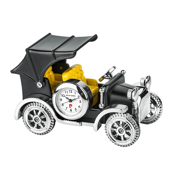 Часовник миниатюра ретро автомобил, Pierre Cardin