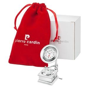 Часовник миниатюра ретро грамофон, Pierre Cardin