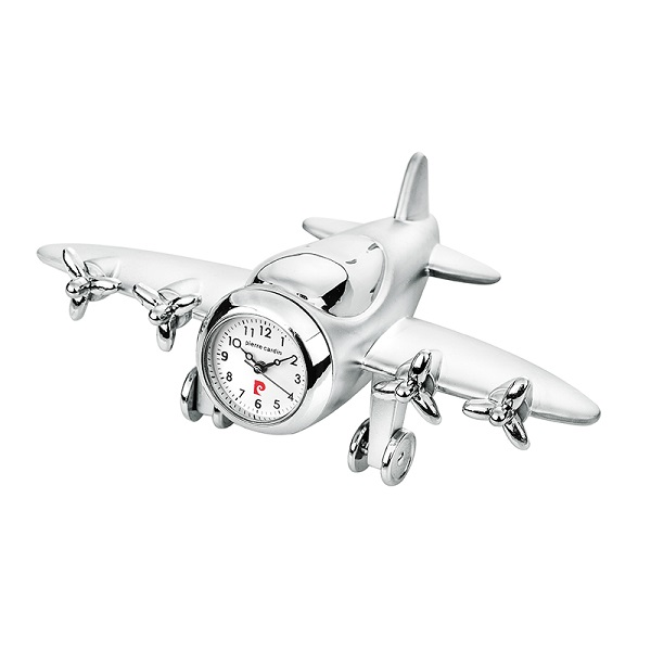 Часовник миниатюра ретро самолет, Pierre Cardin