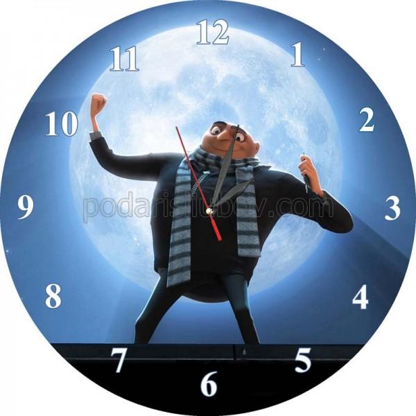 Стенен часовник Анимационен герой, d 26см