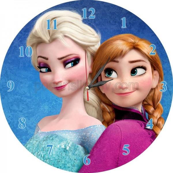 Стенен часовник Frozen, d 26см