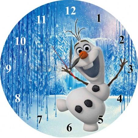 Стенен часовник Олаф, d 26см