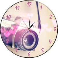 Стенен часовник Photo, d 26см