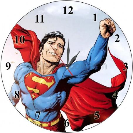 Стенен часовник Супермен, d 26см